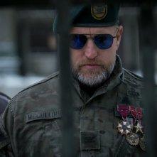 The War - Il pianeta delle scimmie: Woody Harrelson in una scena del film