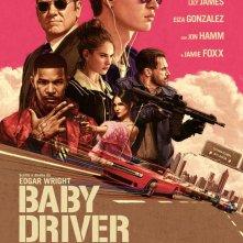 Locandina di Baby Driver - Il genio della fuga