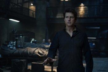 La Mummia: Tom Cruise in una scena del film diretto da Alex Kurtzman