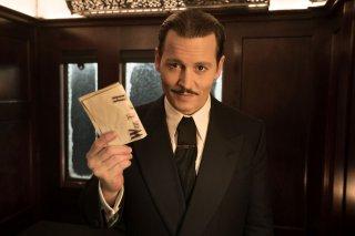 Assassinio sull'Orient Express: Johnny Depp in un'immagine promozionale del film