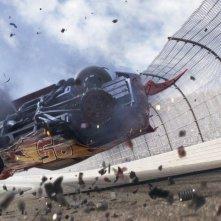 Cars 3: una scena del film animato