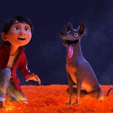 Coco: un scena del film d'animazione