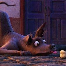 Coco: un scena del film animato