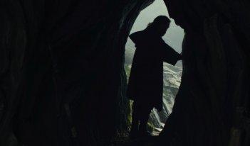 Star Wars: Gli ultimi Jedi: Mark Hamill in una scena del film