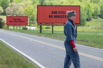 Tre manifesti a Ebbing, Missouri: Frances MacDormand in una scena del film
