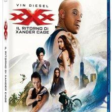 La cover del blu-ray di xXx - Il ritorno di Xander Cage