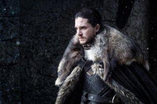Il Trono di Spade: Kit Harington in un'immagine della settima stagione
