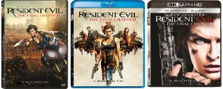 le cover homevideo di Resident Evil: The Final Chapter