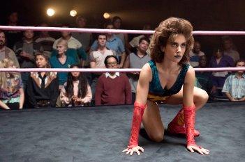 GLOW: una scena sul ring della prima stagione