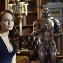 Transformers - L'ultimo cavaliere: Laura Haddock in una scena del film