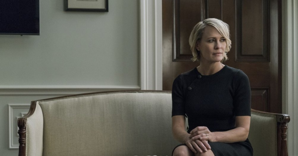 House of Cards 5: Robin Wright in un'immagine tratta dalla serie tv