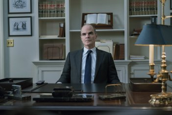 House of Cards 5: Michael Kelly in un momento della serie tv
