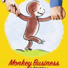 Locandina di Monkey Business: The Adventures of Curious George's Creators