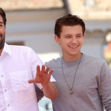Spider-Man: Homecoming: Tom Holland e Jon Watts al photocall