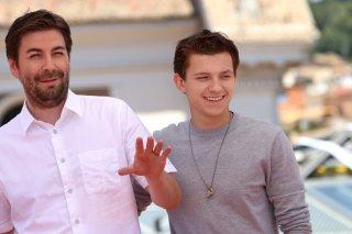 Spider-Man: Homecoming: Tom Holland e Jon Watts al photocall