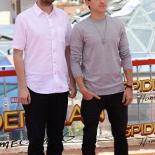 Spider-Man: Homecoming: Jon Watts e il protagonista Tom Holland al photocall