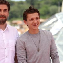 Spider-Man: Homecoming: Jon Watts e Tom Hollan al photocall