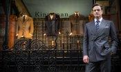 Kingsman: Il cerchio d'oro - Un cartonato spiega il ritorno del personaggio di Colin Firth