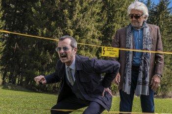 Il Premio: Rocco Papaleo e Gigi Proietti sul set del film