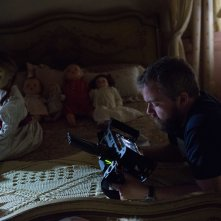 Annabelle 2: Creation, il regista David F. Sandberg sul set del film