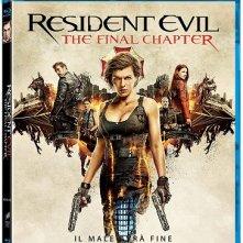 La cover del blu-ray di Resident Evil - The Final Chapter