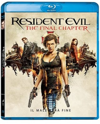 La cover del blu-ray di Resident Evil - The Final Chapter
