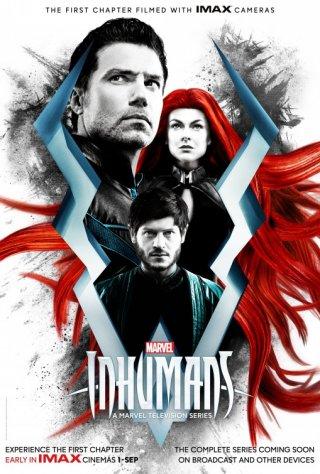 Inhumnas: una locandina della prima stagione