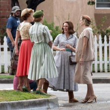 Suburbicon: Julianne Moore sul set del film di George Clooney