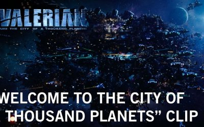 "Valerian and the City of a Thousand Planets - Clip ""Welcome"""