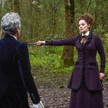 Doctor Who: Michelle Gomez in una scena dell'episodio The Doctor Falls