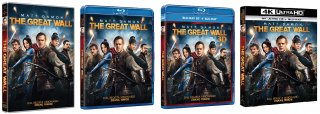 Le cover homevideo di The Great Wall
