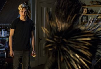 Death Note: il protagonista Nat Wolff in una foto del film
