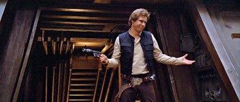 Il ritorno dello Jedi: Harrison Ford in una scena