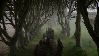 Il trono di spade: una scena dell'episodio Il nord non dimentica