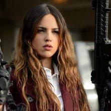 Baby Driver - Il genio della fuga: Eiza Gonzalez in una scena del film