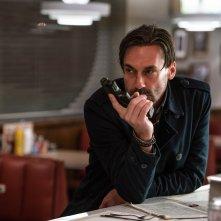 Baby Driver - Il genio della fuga: Jon Hamm in una scena del film