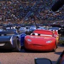 Cars 3: un'immagine tratta dal film animato