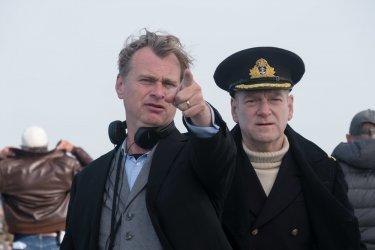 Dunkirk: Christopher Nolan e Kenneth Branagh sul set del film
