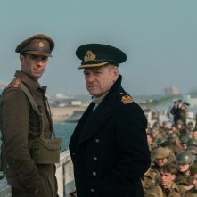 Dunkirk: James D'Arcy e Kenneth Branagh in una scena del film