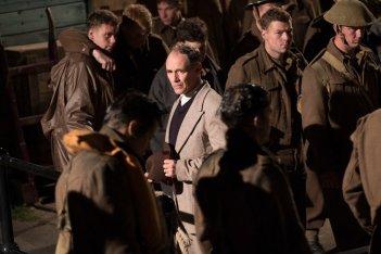 Dunkirk: Mark Rylance in una scena del film