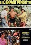 Locandina di Tarzan e il safari perduto