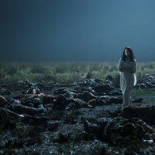 Outlander: l'attrice Caitriona Balfe in una foto della serie