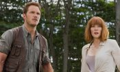 Jurassic World - Il regno distrutto: il poster italiano e le foto dal set di Chris Pratt e Bryce Dallas Howard