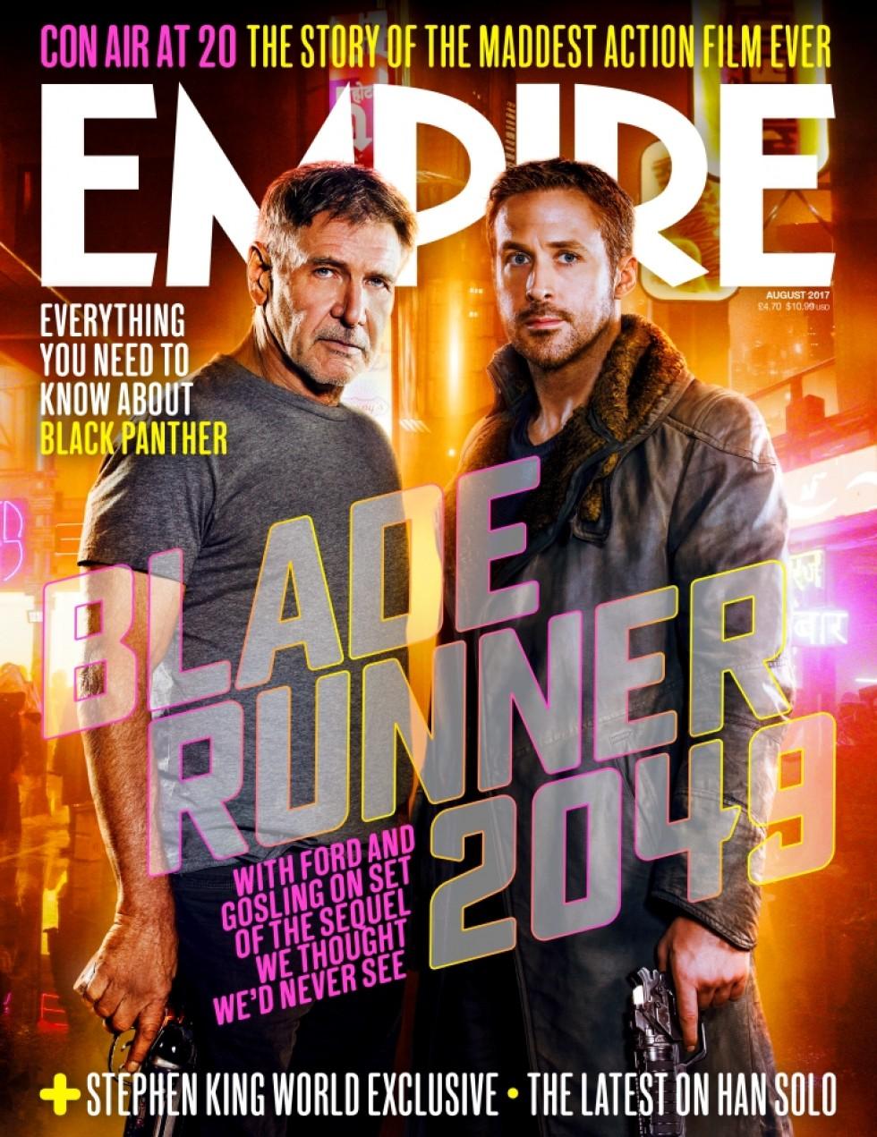 Blade Runner 2049: la copertina di Empire dedicata a Ryan Gosling ed Harrison Ford