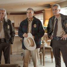 I segreti di Twin Peaks: Dana Ashbrook, Robert Forster e Michael Horse in una scena