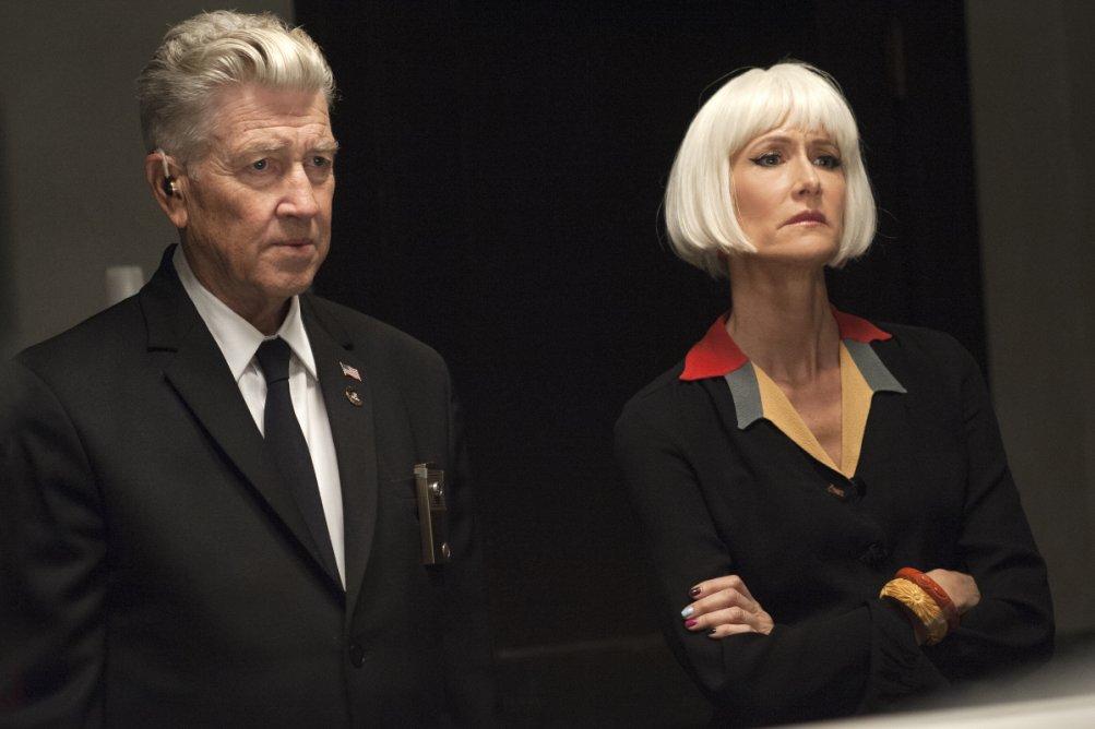 I segreti di Twin Peaks: David Lynch e Laura Dern in una scena