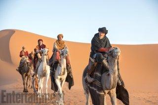 Vikings: Alexander Ludwig nel deserto del Sahara