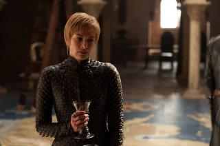 Il Trono di Spade: Lena Headey in una foto dell'episodio Dragonstone