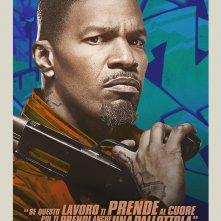Baby Driver: character poster esclusivo con Jamie Foxx