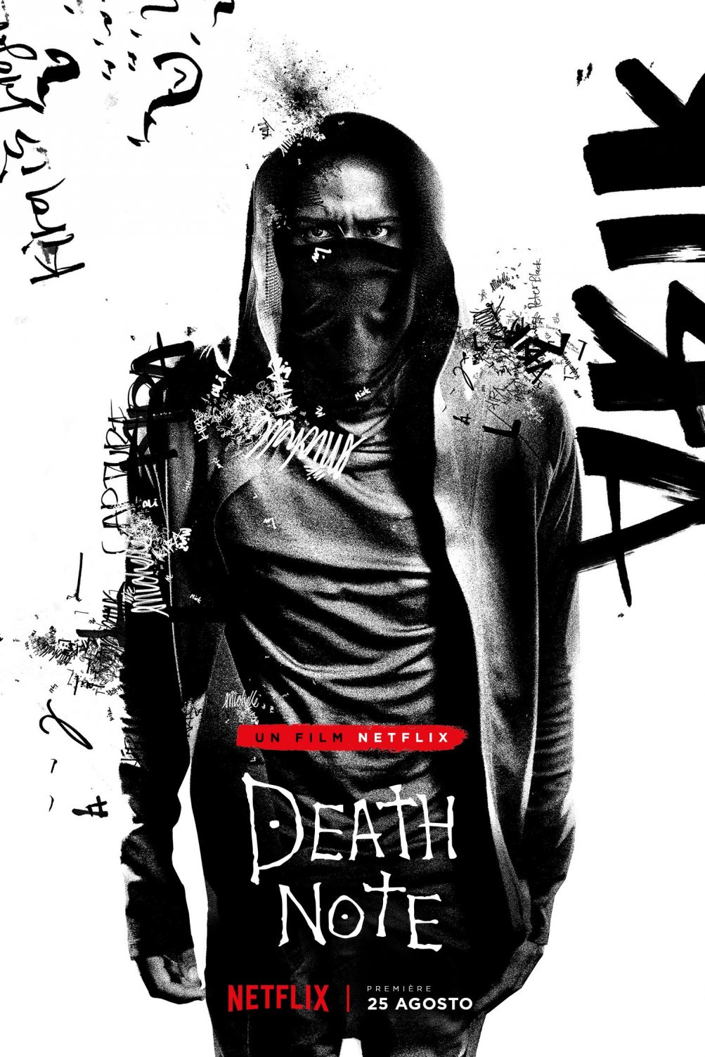 Death Note: il character poster di L, interpretato da Lakeith Stanfield
